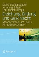 Erziehung  Bildung und Geschlecht PDF