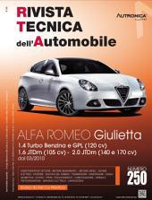 Manuale di riparazione Alfa Romeo Giulietta: 1.4 Turbo Benzina e GPL (120 cv), 1.6 JTDm (105 cv), 2.0 JTDm (140 e 170 cv) dal 03/2010 - RTA250