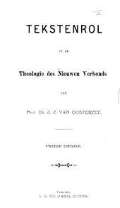 Tekstenrol op de theologie des Nieuwen Verbonds ... Tweede uitgave