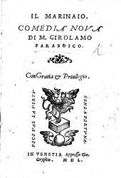 Il Marinaio, comedia nuova [in five acts and in prose].