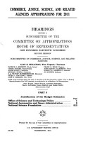 Commerce  Justice  Science  and Related Agencies Appropriations for 2011  Part 3  111 2 Hearings PDF