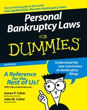 Personal Bankruptcy Laws For Dummies: Edition 2