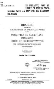 The American Energy      Serial No  112 128  March 20  2012  112 2 Hearing     PDF