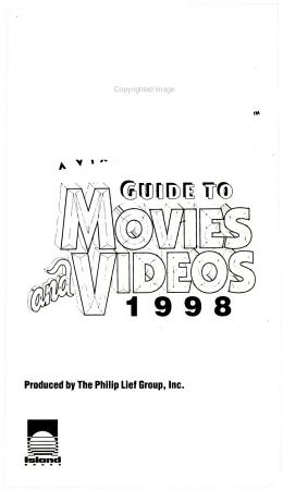 Blockbuster Entertainment Guide to Movies and Videos  1998 PDF