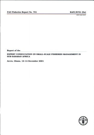 Report of the Expert Consultation on Small Scale Fisheries Management in Sub Saharan Africa PDF