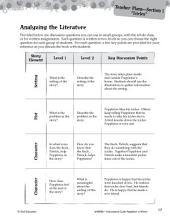 Poppleton in Winter Leveled Comprehension Questions