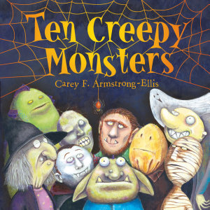Ten Creepy Monsters PDF