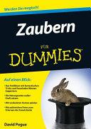 Zaubern f  r Dummies PDF