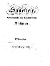 Sonette von bayerischen Dichtern: 2