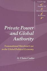 Private Power And Global Authority Book PDF