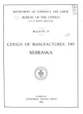 Census of Manufactures: 1905: Volume 21; Volume 24