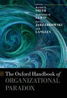 The Oxford Handbook of Organizational Paradox PDF
