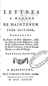 Mémoires et lettres de Mme de Maintenon: Volume14