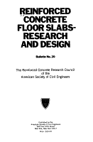 Reinforced Concrete Floor Slabs  research and Design PDF