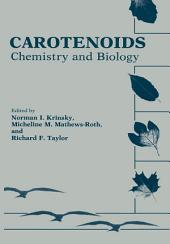 Carotenoids: Chemistry and Biology