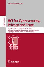 HCI for Cybersecurity  Privacy and Trust PDF