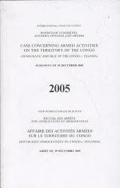 Affaire Des Activités Armées Sur Le Territoire Du Congo (République Démocratique Du Congo C. Ouganda)