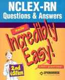 Nclex Pn 250 New Format Questions Nclex Rn Question And Answers Made Incredibly Easy  Book PDF