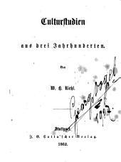 Culturstudien: aus drei jahrhunderten, Bände 1-3
