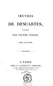 Oeuvres de Descartes: Volume 2