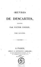 Oeuvres de Descartes: Volume2