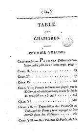 Histoire secrète du tribunal révolutionnaire, par m. de Proussinalle: Volume2