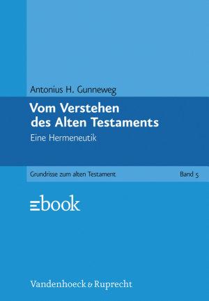 Vom Verstehen des Alten Testaments PDF