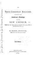 The True Christian Religion PDF
