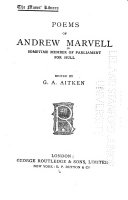 Poems of Andrew Marvell PDF