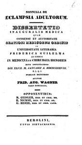 De eclampsia adultorum