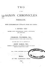 Two of the Saxon Chronicles Parallel PDF