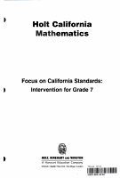 Stnd Intervention G7 H CA Math 2008 C2 PDF