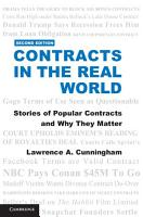 Contracts in the Real World  Second Edition PDF