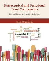 Nutraceutical and Functional Food Components PDF