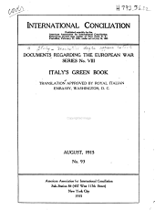 Italy's Green Book