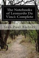 The Notebooks of Leonardo Da Vinci PDF