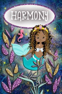Mermaid Dreams Harmony: Wide Ruled Composition Book Diary Lined Journal
