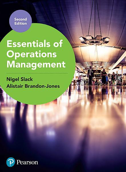 Essentials of Operations Management