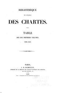 Biblioth  que de l Ecole des chartes PDF