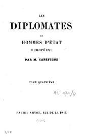 Les diplomates européens: Volume4