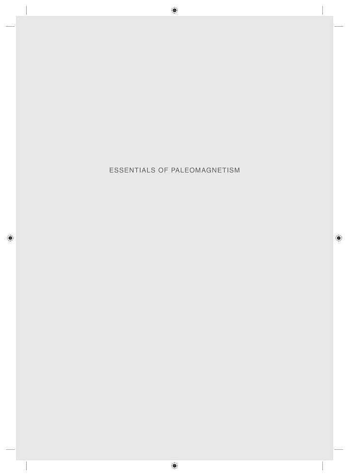 Essentials of Paleomagnetism