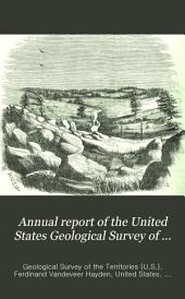 Annual Report of the United States Geological Survey of the Territories ...: Volume 4; Volume 1870