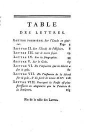 Lettres de Mentor à un jeune seigneur