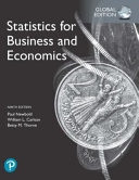 Statistics for Business and Economics  Global Edition PDF