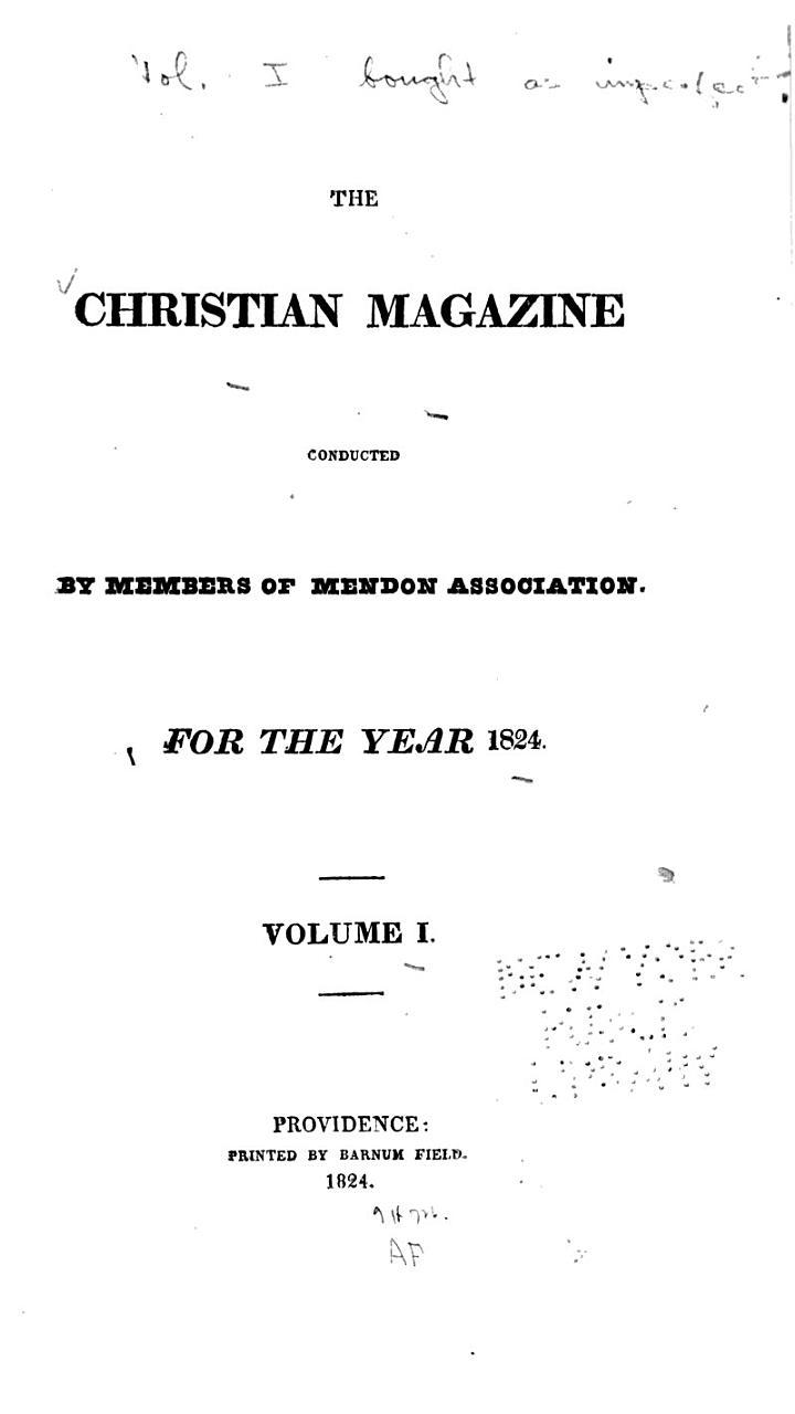 The Christian Magazine