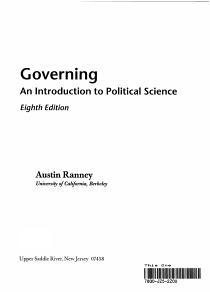 Governing PDF