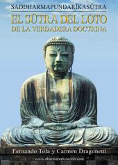 Sūtra del Loto de la Verdadera Doctrina: Saddharmapuṇḍarīkasūtra