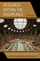 Research within the Disciplines PDF