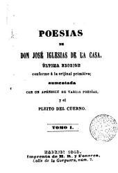 Poesías, 1-2: Ultimia ed. conforme a la primitiva aument...