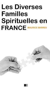 Les diverses familles spirituelles en France